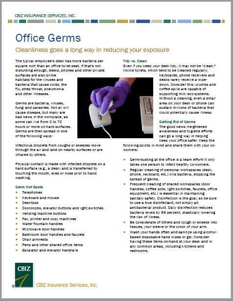 Offiecc Germs Flyer Image