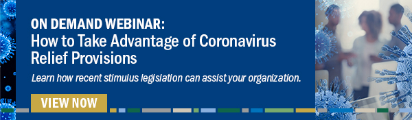 Coronavirus Relief Provisions On-Demand Webinar
