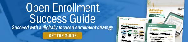 Open enrollment success guide CTA.