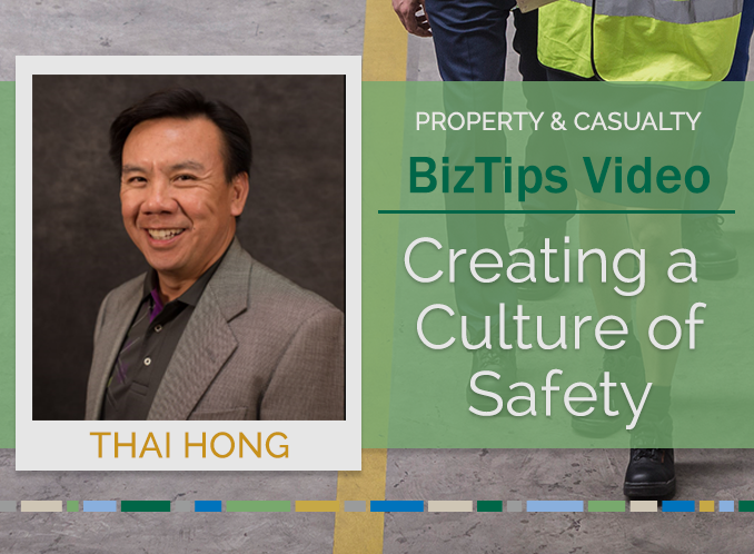 Biz Tips: Creating a Culture of Safety