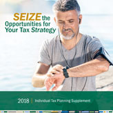 2018 Individual Tax Planning Supplement
