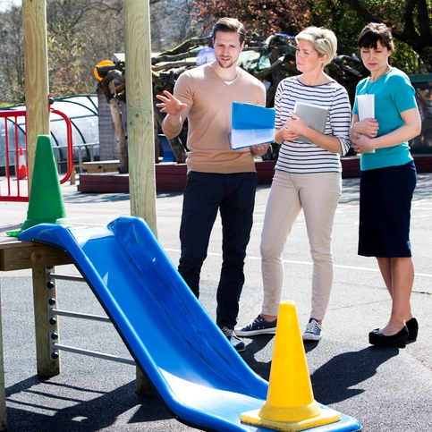 Playground Safety - Preventing Injuries by Practicing Safe Habits