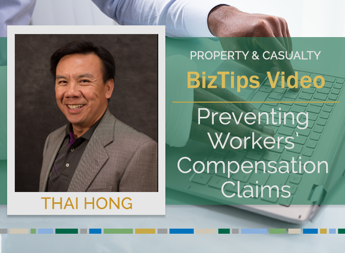 Biz Tips: Preventing Workers' Compensation Claims