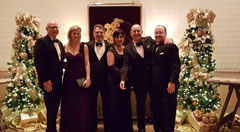 CBIZ MHM Boca Raton professionals attended the Bourbon & Blues Gala  recently.